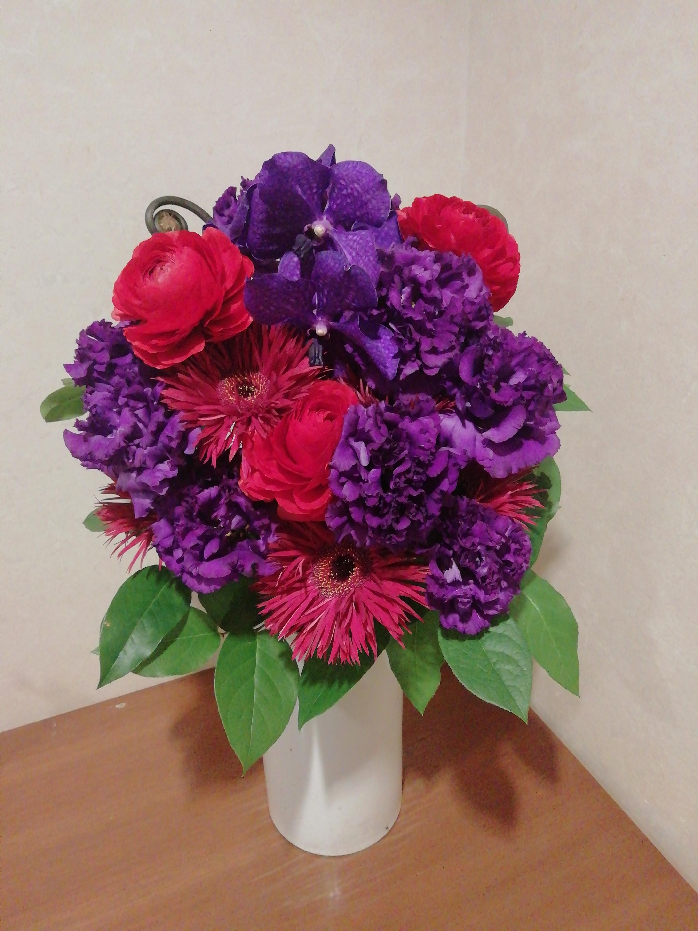 珍しいお花です!