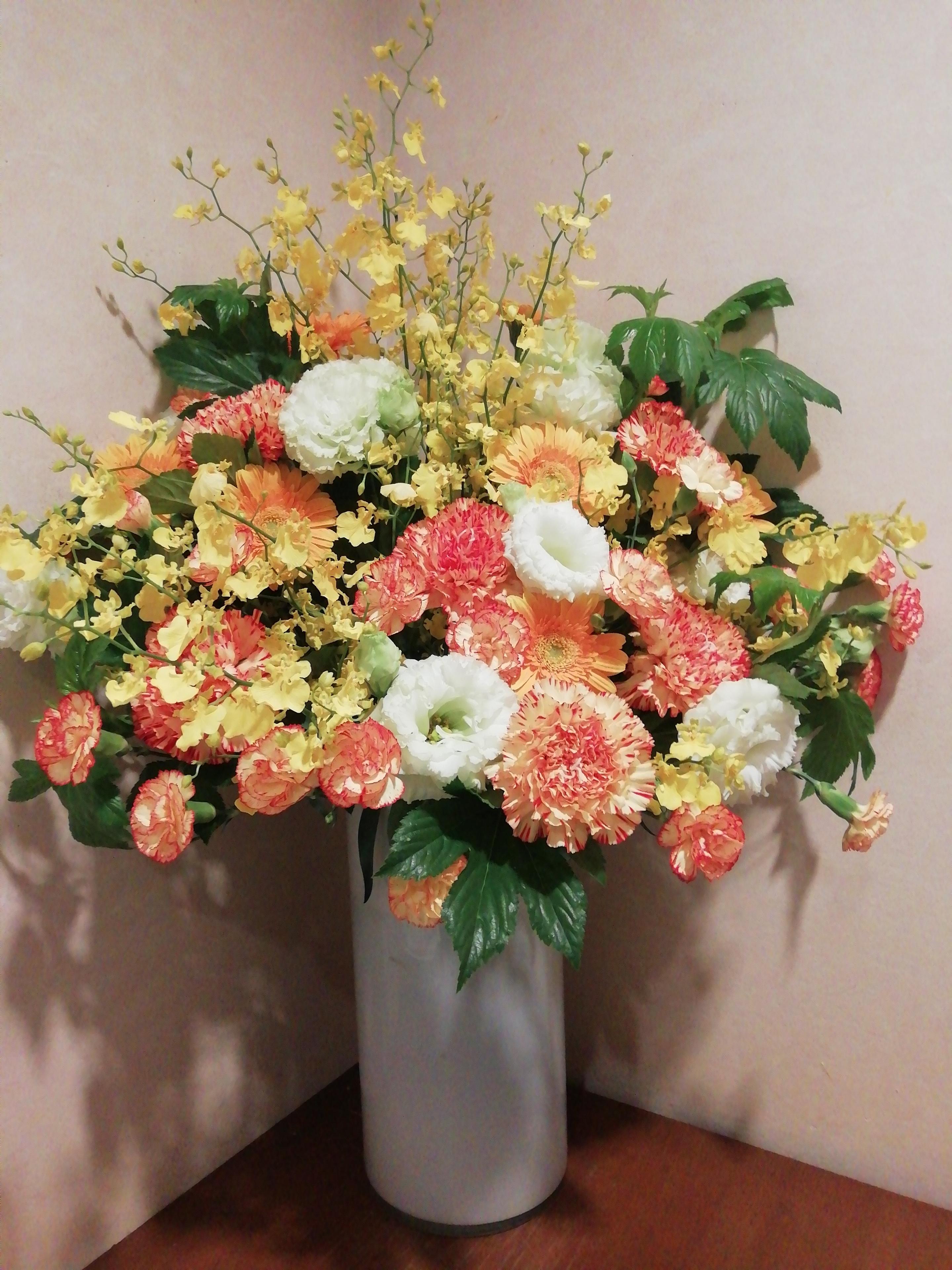 黄色い生花